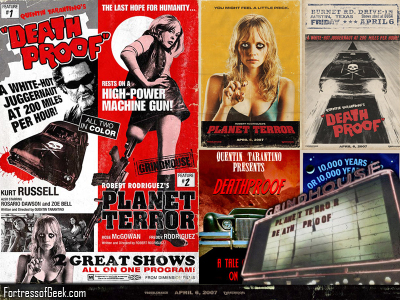 The Fortress of Geek: Grindhouse Wallpaper by FoG
